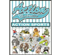 Action Illustrated Action Sports Clipart