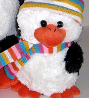 Crazy Critter Perry Penguin standard size