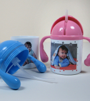 Polymer 250 ml child's double handed mug