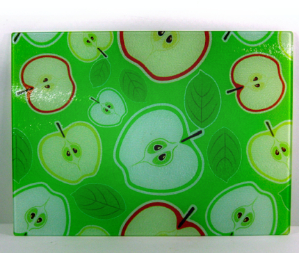 Glass chopping board large