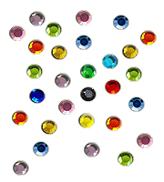 Loose hotfix rhinestones colours SS6
