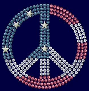 Peace stud design