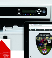 Virtuoso SG800 printer and install kit (standard and high capacity options)