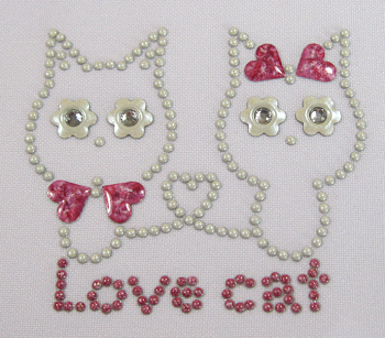 Cat nailhead design
