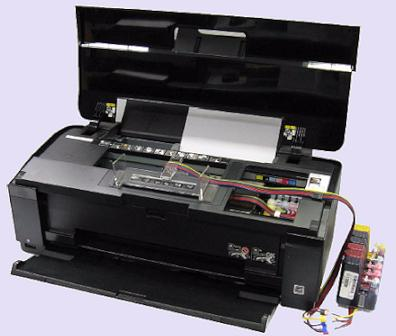 Epson 1500W printer and continuous ink system