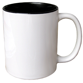 Special offer 11oz mug with black inside