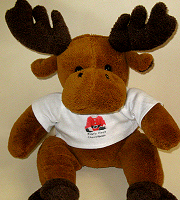 Soft toy reindeer
