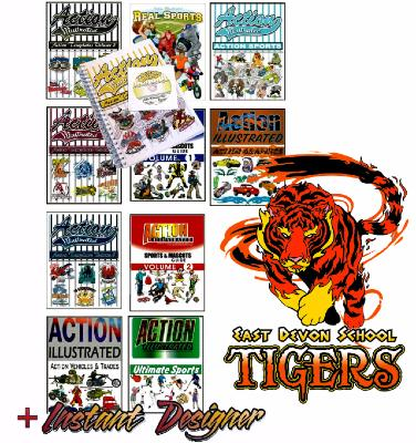 Action Illustrated Sports Pack