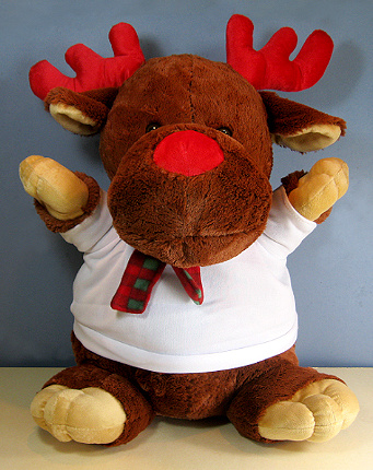 Crazy Critter Rudolph Reindeer giant size