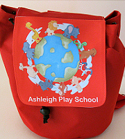 Child small rucksack with fixed flap