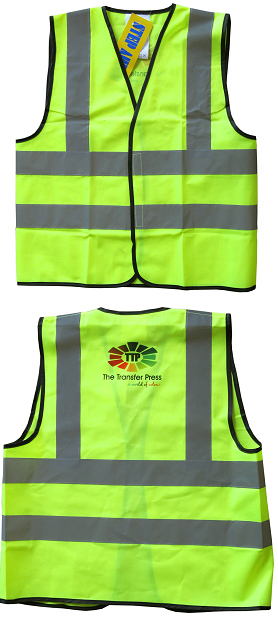 Hi-visibility safety vests - adult