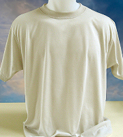 Vapor Apparel adult basic t-shirt in November white