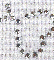 Loose hotfix rhinestones clear crystal