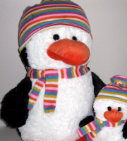 Crazy Critter Perry Penguin giant size