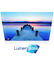 Lumenglass glass panel