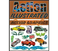 Action Illustrated Action Graphics Clipart
