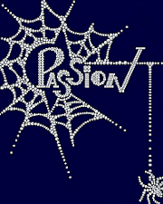 Passion rhinestone design