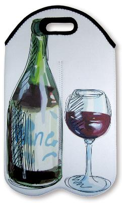 Double bottle insulated wine tote