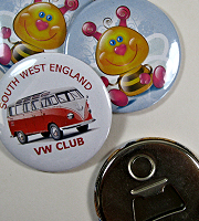 Bottle opener fridge magnet 56 mm