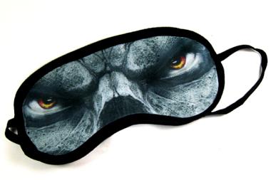Polyester Dye Sublimation Printable Eye Mask