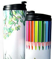 Metro thermos drink can