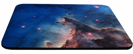 Fabric topped mousemat 6 mm thick