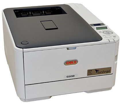 SunAngel 33TW A4 printer with starter cart pack