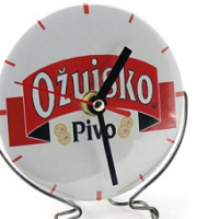 Clock with stand 100 mm