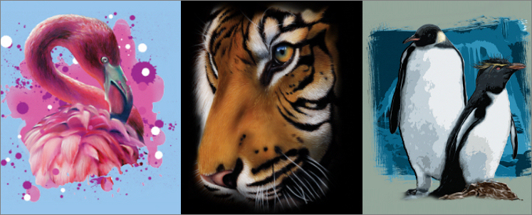 Licenced artwork transfers from Art Brands, Wild Side and
