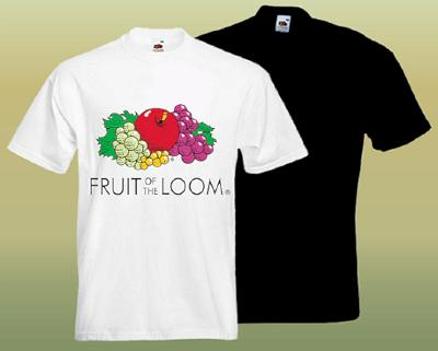 Fruit of the Loom cotton t-shirts