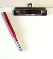 Clipboard rivet tool