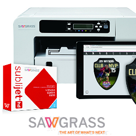 Sawgrass Virtuoso A4, A3 and wide format printing systems