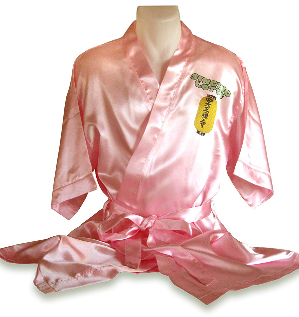 Kimono/dressing gown for dye sublimation printing