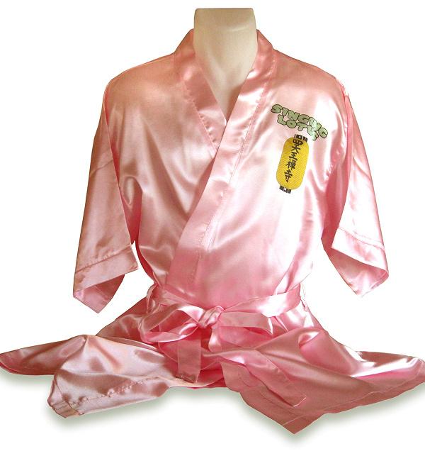 Kimono/dressing gown for dye sublimation printing