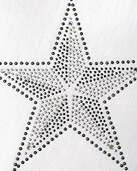 Star rhinestud design