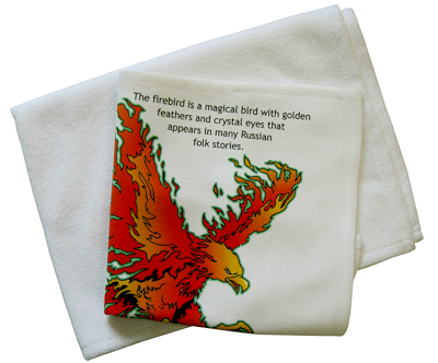 New dye sublimation towels