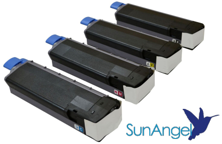 SunAngel toner cartridges for 63TW printer