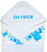 Baby towel with hood