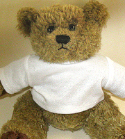 "Teddy bear 7"" high"