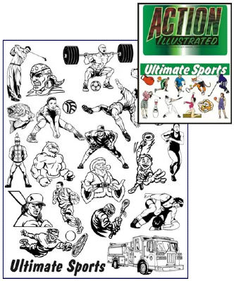 Action Illustrated Ultimate Sports Clipart