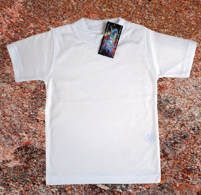 SubliSoft youth t-shirt white