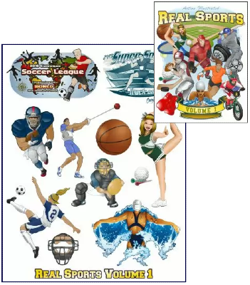 Action Illustrated Real Sports Templates