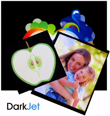 DarkJet A3 paper for dark coloured fabrics