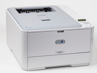 SunAngel 32SC colour printer with starter set of cartridges