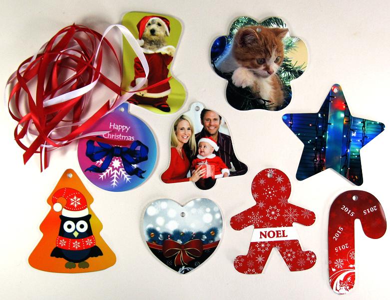 Unisub aluminium Christmas decorations