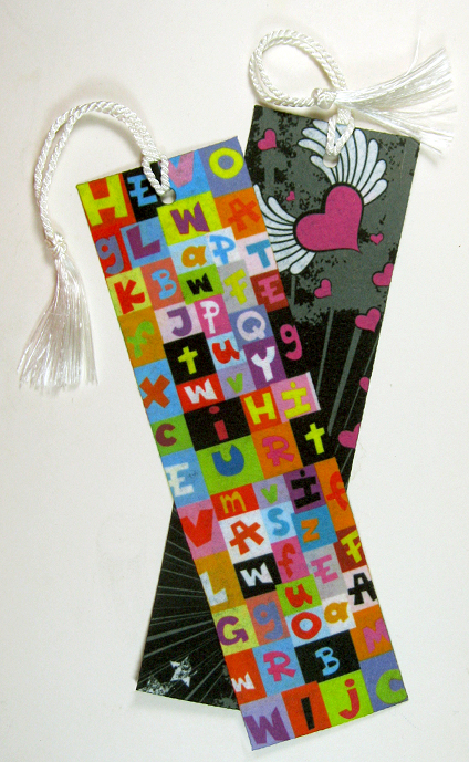 Felt bookmark with tassel