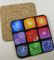 Special offer cork backed coaster