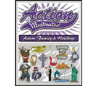 Action Illustrated Action Family and Holidays Clipart