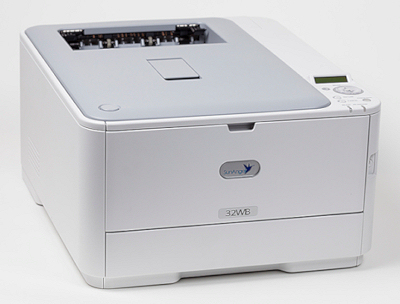 SunAngel 32WB white printer with starter set of cartridges