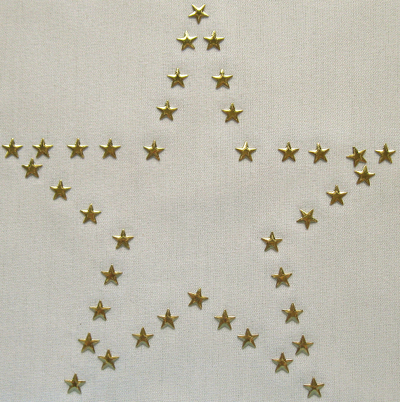 Star star nailhead design